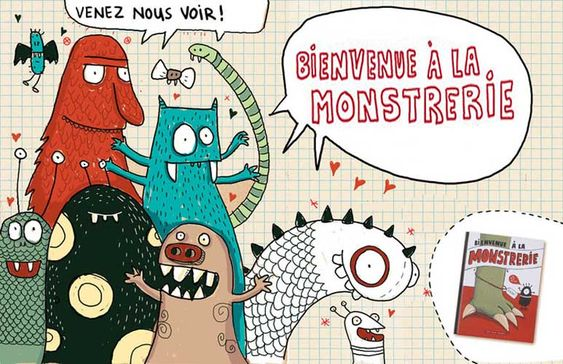 elisegravel.com | Bienvenue à la Monstrerie - Elise Gravel
