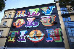 Victorian font graffiti