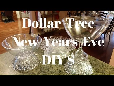 Dollar Tree New Years Eve Diy S Youtube Dollar Tree Dollar Tree Gifts New Years Eve Decorations