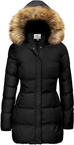 Mens Heavy Winter Puffer Parka Padded Removable Hood Jacket Short Coat Sale!