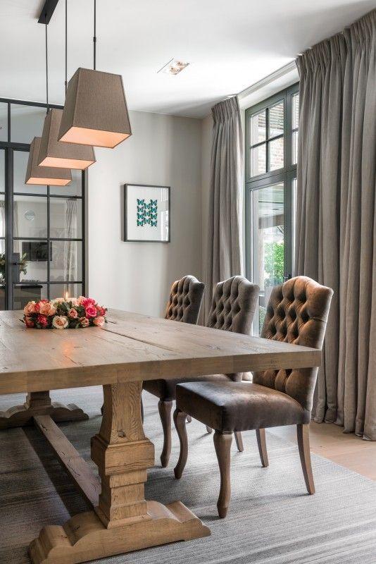 Wonderbaar Villa in S'Gravenwezel | Interieur woonkamer, Huis interieur HL-93
