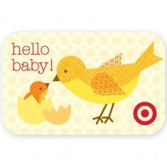 target baby card. Lorena siminovich