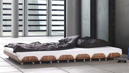 Tiefschlaf zebra wood bed from Stadtnomaden 3