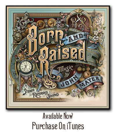 Born & Raised Now On iTunes, Purchase Now.
