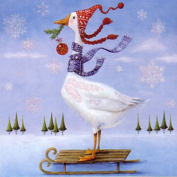 Christmas card selection by Mila Marquis * 4 piece * Minimum order value 10 Euro *:
