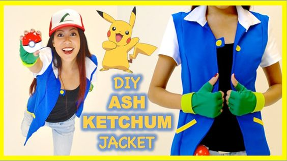 DIY ASH KETCHUM JACKET [Pokemon Costume- Cosplay]