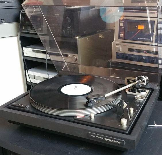 Dual 704 direct drive platenspeler | Vinyl music, Dual