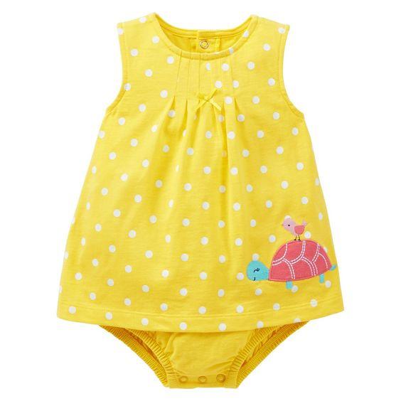 Target newborn yellow dress