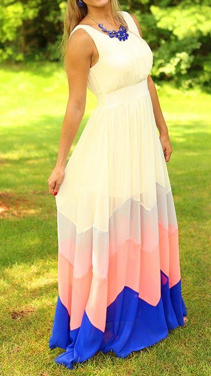 maxi dress: