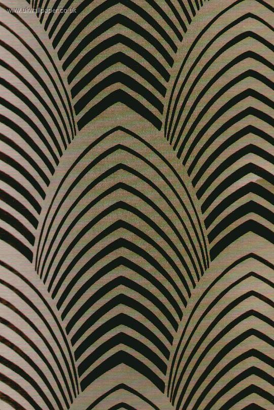 Art Deco Wallpaper En dan graag geschikt om een jasje mee