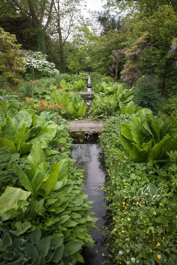 Geoffrey Jellicoe Architect Shute House Shaftesbury Water Features In The Garden English Garden Design Landscape Design