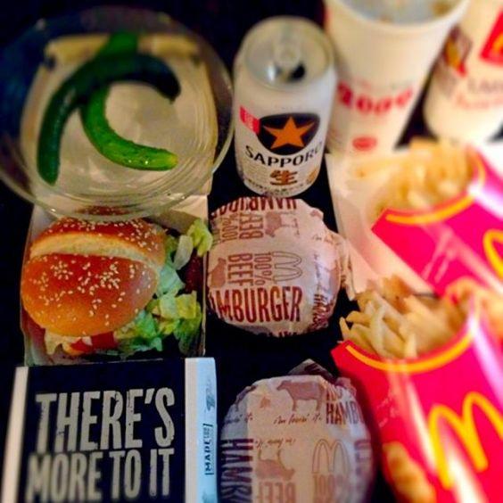 明日頑張りますw今宵はめっちゃ手抜きぃ - 42件のもぐもぐ - Hamburger(*´∀`)ジャンキー by Ami
