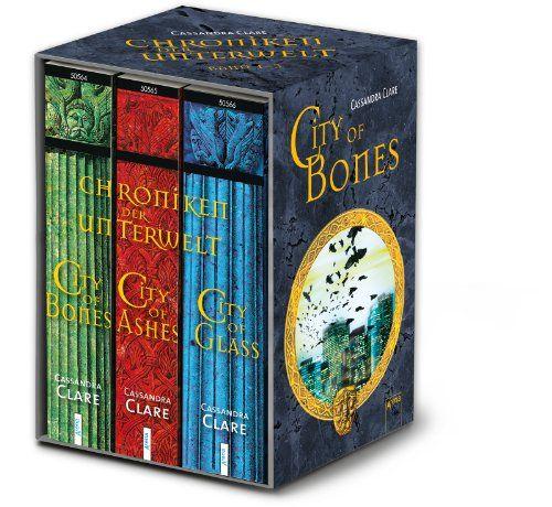 City of Bones / City of Ashes / City of Glass - Chroniken der Unterwelt 01 - 03: Amazon.de: Cassandra Clare: Bücher