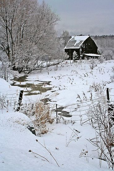 The Winter Black Barn And Country Charm On Pinterest