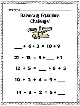 True or False Equations Worksheet | 1.0A.7 | Pinterest | To be ...