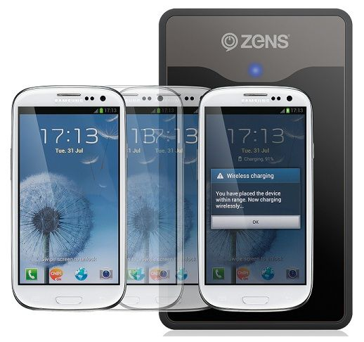 Zens Launched Wireless Charging Kit For Samsung Galaxy S3 - Recently, zens has launched its own wireless charging kit. This kit is specially made for the Samsung Galaxy S 3. The charging kit is not only a cover but also it will make the device eligible as a charging pad. The back cover is available in both Marble White and Pebble Blue color that will perfectly match the color of the Samsung Galaxy S3. You will please to know that Zens wireless charging kit is compatible with other devices…