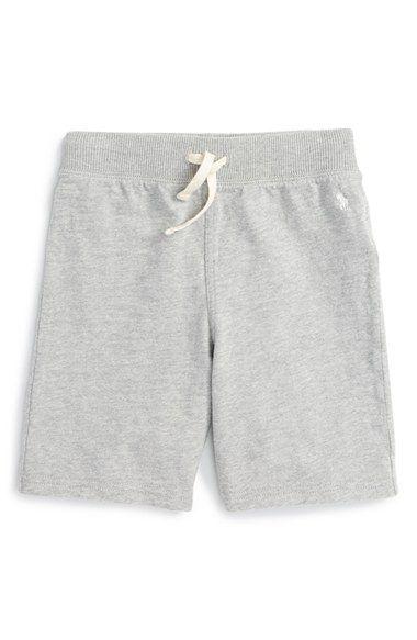 Ralph Lauren Heavy Jersey Sweat Shorts (Big Boys)