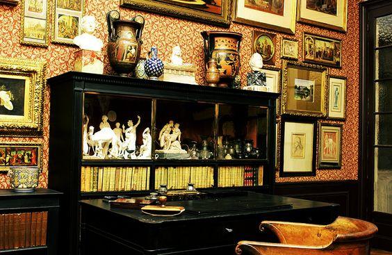 Cabinet de réception de Gustave Moreau: