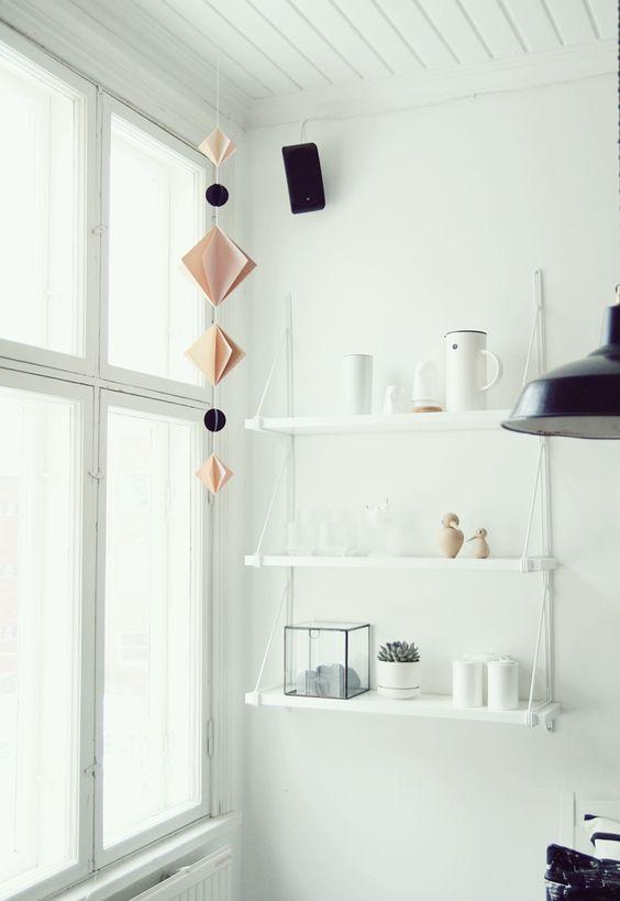 White IKEA GÄLLÖ wall shelf