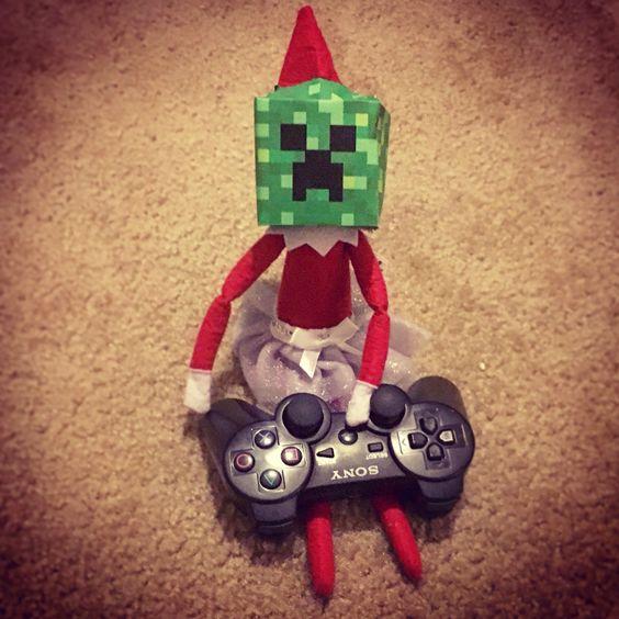 Mine craft elf!