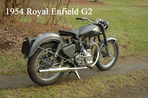 1954 Royal Enfield G2 350 Royal Enfield Royal Enfield Bullet Enfield
