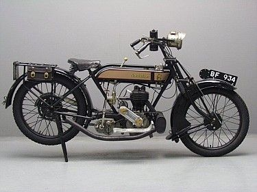 New Hudson 1923 FOUR point FIVE 600cc 1 cyl sv