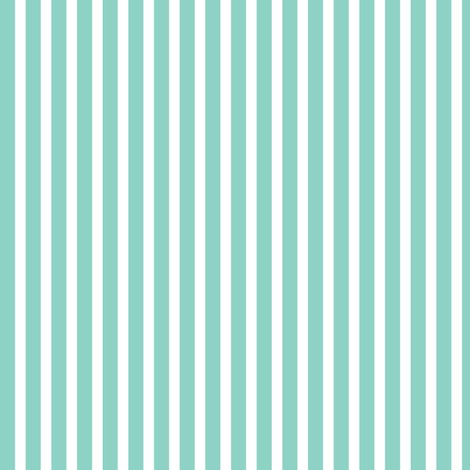 precious boy - teal stripes fabric by misstiina on ...