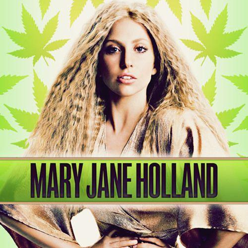 Lady Gaga – Mary Jane Holland (single cover art)