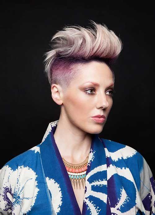 20 + Ombre Color de pelo para el pelo corto //  #color #corto #Ombre #para #pelo Haga clic para obtener más peinados : http://www.pelo-largo.com/20-ombre-color-de-pelo-para-el-pelo-corto/