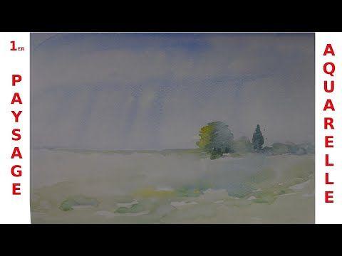 Comment Peindre Un Paysage A L Aquarelle Un Tuto Pas A Pas