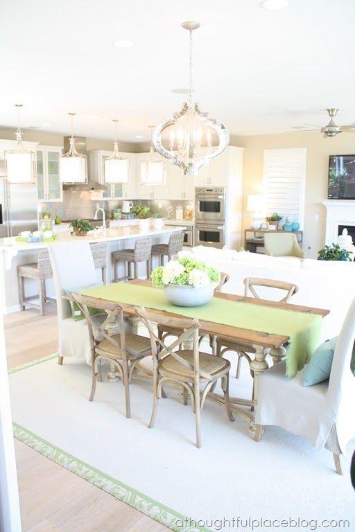 Friday Eye Candy: Light | Kitchens | Pinterest | Open Kitchens, Kitchens  And Kitchen Living Rooms Part 89