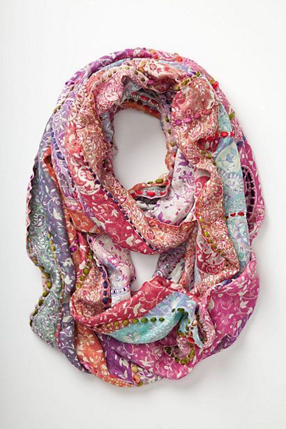 Anthropologie Spice Market Infinity Scarf - We Dig It Wednesday - Sometimes Serious