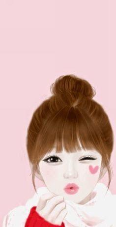 Terbaru 30 Gambar Kartun Korea Lucu Imut 214 Best Enakei Images Korean Anime Lovely Girl Image Download Foto Kartun Korea Do Gambar Kartun Gambar Kartun