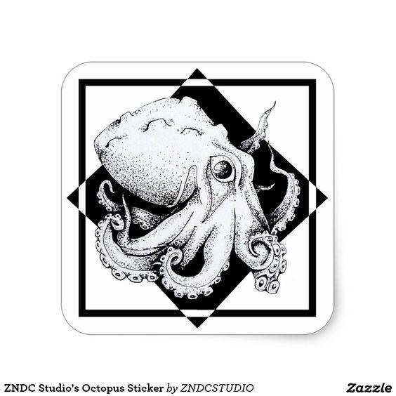 ZNDC Studio's Octopus Sticker