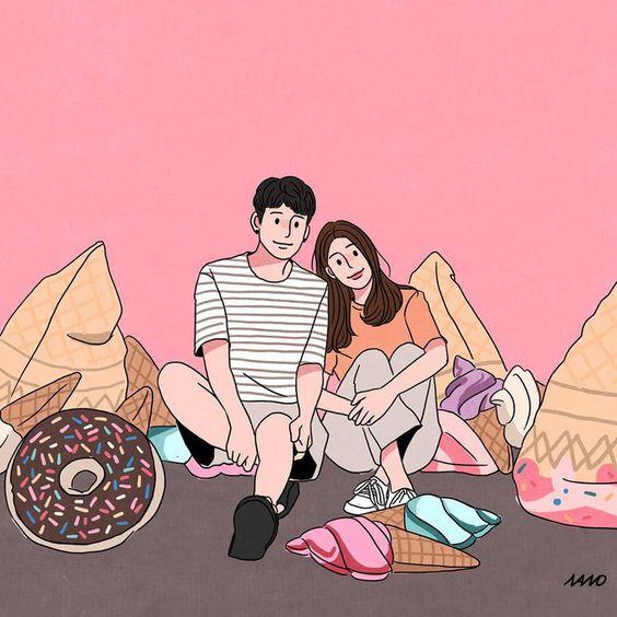 Bộ tranh: Tình yêu là những phút giản đơn nhưng lại khiến chúng ta mỉm cười trong ngọt ngào - Ảnh 9.