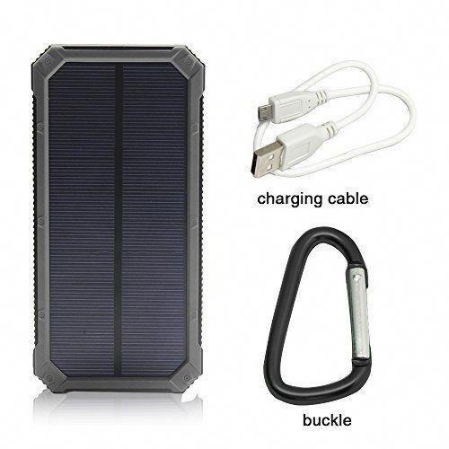 Solar Charger, Solar External Battery Pack, iBeek® Portable