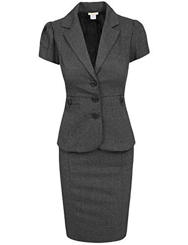 NE PEOPLE Women's Various Styles Offcie Suit Set NE PEOPLE http://smile.amazon.com/dp/B00TJM3FFW/ref=cm_sw_r_pi_dp_grCGvb1NPAWEC