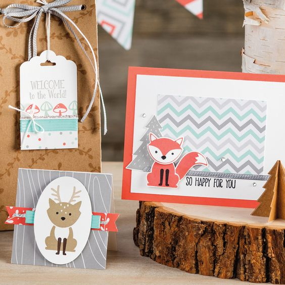 Fox Builder Punch by Stampin' Up!