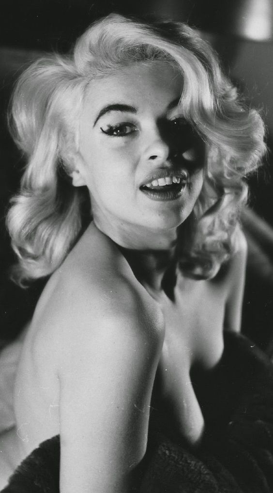 Jayne Mansfield. Photo by Peter Basch, 1955.