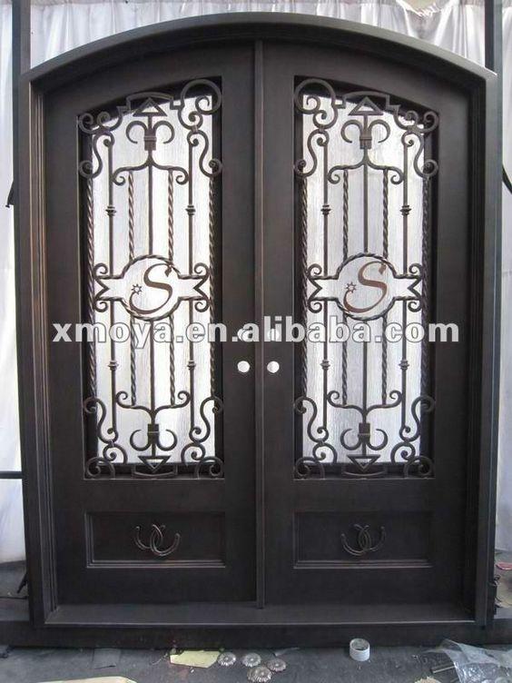 Puertas de entrada dobles puertas de la entrada and for Puertas de entrada de hierro