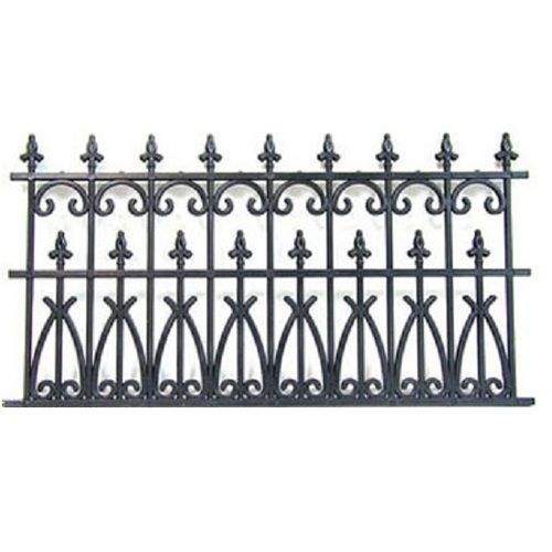 Nwc100 Ornate Fencing Fence Design Fence Panels Metal Fence