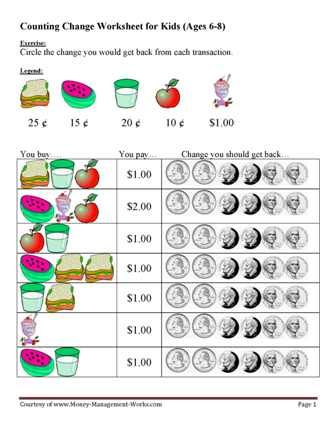 Money Worksheets | ESL | Pinterest | Money Worksheets, Worksheets ...