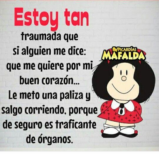 Pinterest España Mafalda Frases Graciosas Mafalda