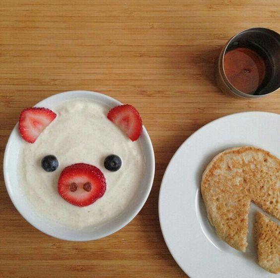 Asi quiero un desayuno.