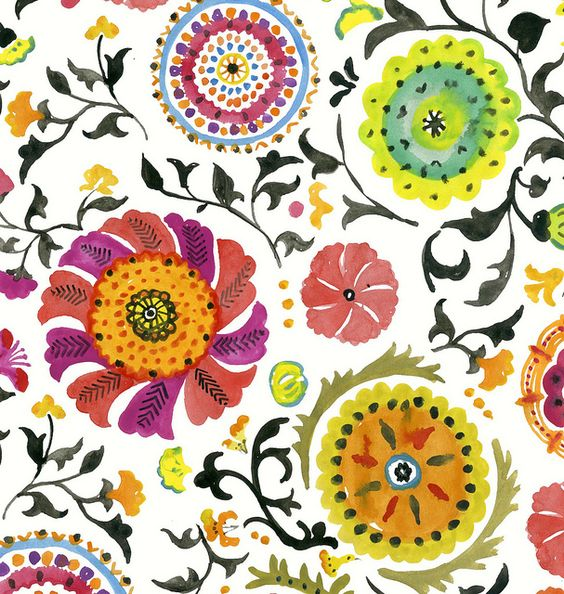 Bukhara fabric design