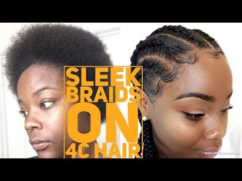 Learning How To Style Short Natural Hair At Home Can Be Hard If You Dont Know How To Take Care Of Short N In 2020 Feed In Braid 4c Hairstyles Short