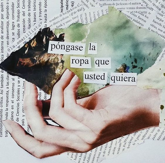 Collages feministas