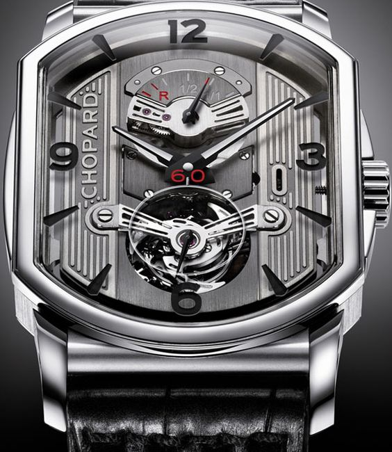 How about a watch that looks like an engine? Only 100 grand.