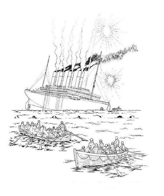 Titanic Malvorlagen - Malvorlagen1001.de.