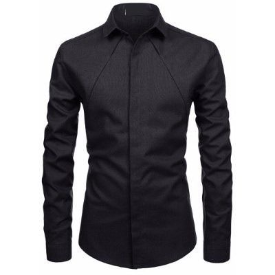 Camisa social masculina luxo